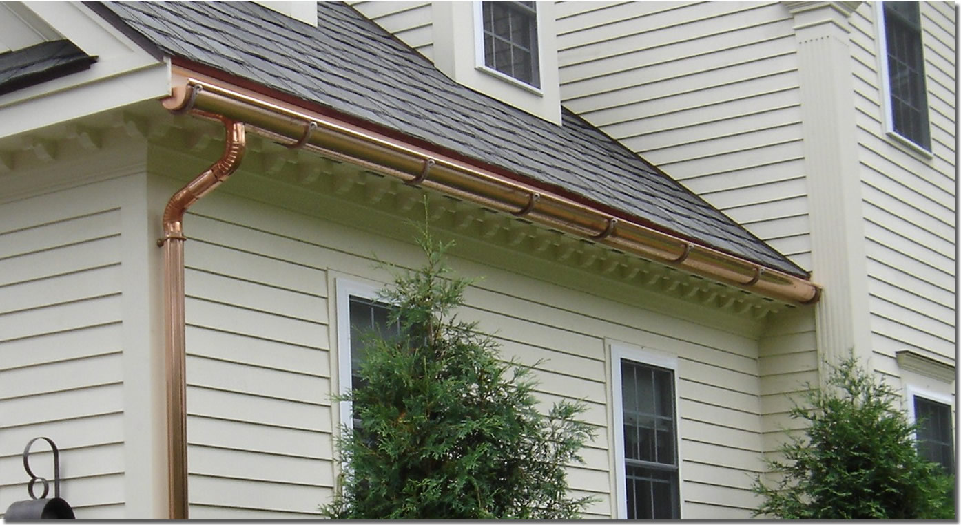 Seamless Gutters Nh Your New Hampshire Gutter Design